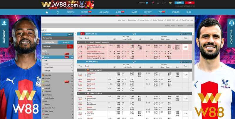 Place Your Winning Bet on Sport W88