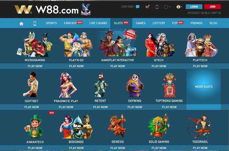 W88 Slots and The World Best Slot Makers