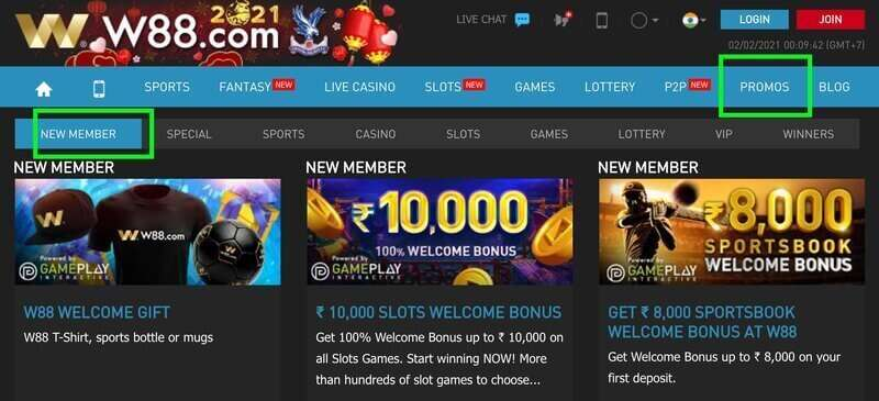 Win Unlimited Cash with Promotion W88