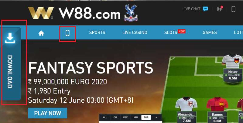 W88 App Download - The Ultimate in Mobile Online Gaming and Sports Betting