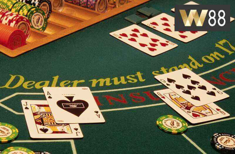 Your Table is Ready at W88 Online Blackjack