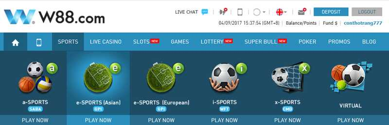 Find Excellent Betting Alternatives with Sports Like W88 Soccer